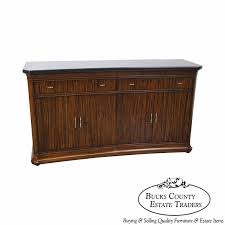 thomasville french art deco style granite top buffet sideboard