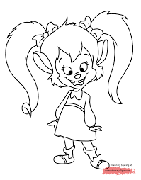 goof troop coloring pages disney coloring book