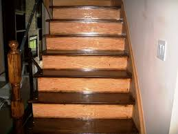 Hardwood Floor Stairs Stairs Painted White Recent Project Dustless Refinishing