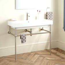 carrara marble console sink marble console sink home design double dijizz with regard to marble