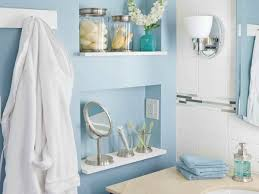 Recessed Bathroom Shelving Small Bathroom Storage Solutions