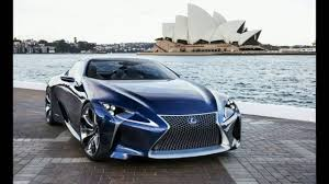 lexus lc interior 2017 lexus lc 500 exterior interior and road test youtube