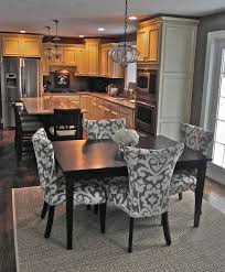 combined kitchen and dining room marvellous kitchen and dining room combination makeovers photos