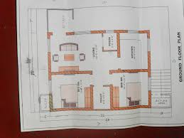 vastu south facing house plan proposed plan in a 40 feet by 30 feet plot gharexpert
