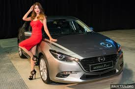 where does mazda come from 2017 mazda 3 facelift launched in malaysia now with g vectoring