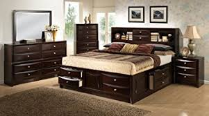 King Bed Sets Furniture Roundhill Furniture Ankara Wood Bedroom Set Includes