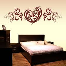 Schlafzimmer Wandtattoo Herz Liebe Mit Wand Aufkleber Blumen Ranke Xxl