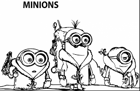 beautiful minion printable coloring pages minions coloring