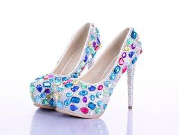wedding shoes perth luxurious colorful diamond wedding shoes high heeled shoes