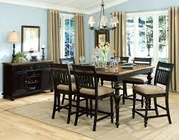 Apartment Dining Room Ideas Articles With Dining Table 6 Fabric Chairs Tag Chic Fabric Dining