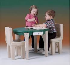 Amazon Com Step2 Lifestyle Dining Room Table Chairs Set Toys Games
