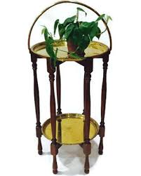 Brass Tray Table Cyber Monday Savings Vintage Brass Tray Side Table Moroccan Brass