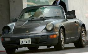 classic porsche models hank moody u0027s true love the porsche 964 cabriolet 2nd rodeo