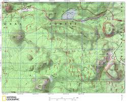 Crater Lake Oregon Map by Maps The Willamette Chapter Oregon Nordic Club