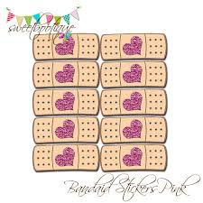 doc mcstuffins inspired bandaid stickers birthday party