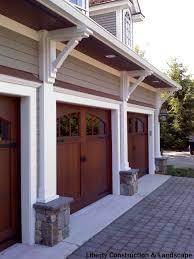 garage doors garage pergola outdoor over the door trellis