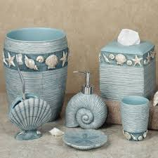 ocean themed bathroom accessories home interior design ideas