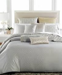 hotel collection finest silver leaf king duvet cover bedding c728