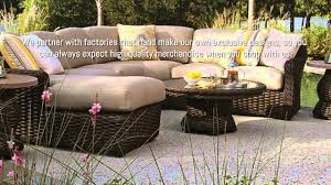 Indoor Patio Furniture by Indoor Outdoor Wicker Furniture Sets Wicker Warehouse Youtube