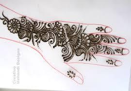how to initiate arabic henna mehndi design tutorial nidhi u0027s art