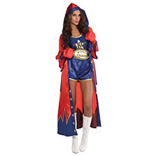 Street Fighter Halloween Costumes Size Uk 10 12 Medium Ladies Boxing Knockout Champion Sport