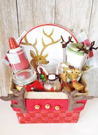 gift basket themes reindeer gift basket sprinkle some