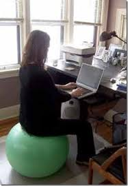 Yoga Ball As Desk Chair Tips For Staying Comfortable In Pregnancy U2026 Belly Beautiful