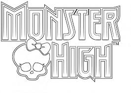monster coloring pages print enjoy coloring