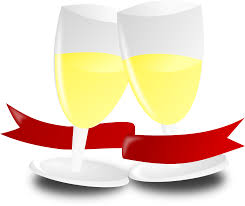 champagne glass cartoon champagne anniversary bottle png image pictures picpng