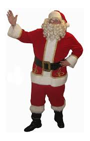 santa claus suits santa claus suits and accessories deluxe theatrical
