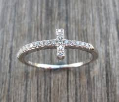 cross ring necklace images 100 best sideways cross necklaces images sideways jpg