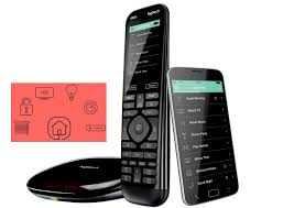 the logitech harmony elite and pro remote control systems