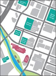 Greenville Sc Map Directions U0026 Parking Peace Center Official Site