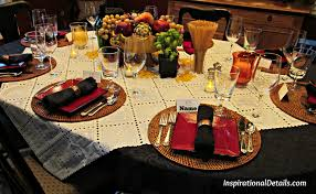 Table Scapes Italian Dinner Tablescape Inspirational Details