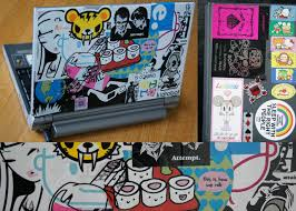 Notebook Cover Decoration Japanese Decorated Cell Phones How To Tutorial Diy Laptop