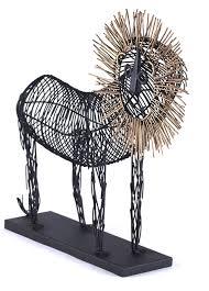 metal lion sculpture metal lion sculpture