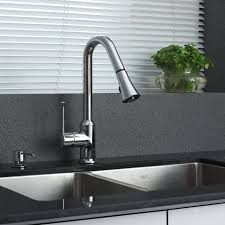 Kitchen Faucet Stainless Steel Kohler Carmichael Single Handle Pull Down Sprayer Kitchen Faucet