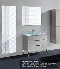 Mirrored Bathroom Furniture Madeli Kitchen Bath Products Bathroom Furniture