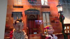 yes virginia there is a santa clause macy u0027s nyc windows youtube