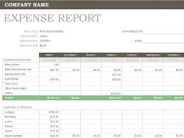 expenditure report template u2013 word documents
