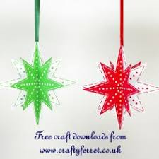 another star ornament colors ornaments and origami