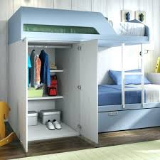 Bunk Beds With Built In Desk Loft Beds With Closet Wardrobes Bunk Beds Built Into Closet Bunk