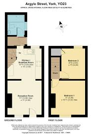 2 bedroom end of terrace house for sale in argyle street south