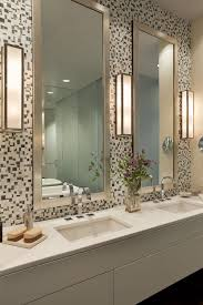 How To Hang Bathroom Mirror Lovely Design Ideas Hanging Bathroom Mirrors With Frame How To