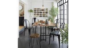 crate and barrel marble dining table awesome origami drop leaf rectangular dining table crate and barrel