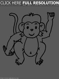 hanging monkey template clipart panda free clipart images