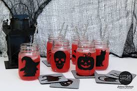 srm stickers halloween mason jars u0026 coasters by juliana