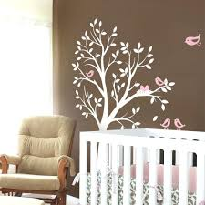 tree of decal for walls tree with birds and nest decal bird