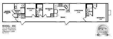 4 Bedroom 2 Bath Mobile Homes Oilfield Trailer Houses Unit Floor Plans Prices On Mancamps