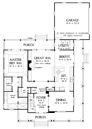 country style house plan 4 beds 2 5 baths 2490 sq ft plan 929